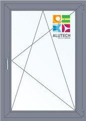 Алюминиевое окно Alutech W62 900*1200 2К-СП П/О