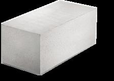 Блок строительный SLS Group КварцМелПром из ячеистого бетона 625х300х249 D500-В2,0(2,5;3,5)-F35