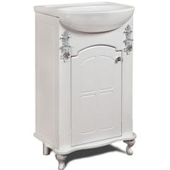 Мебель для ванной комнаты Калинковичский мебельный комбинат Тумба Версаль 500 КМК 0454.7 (белый)