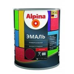 Эмаль Эмаль Alpina универсальная (серый, 0,75 л /0,87 кг)