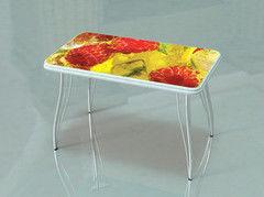 Обеденный стол Обеденный стол Albico Малина и лед