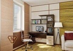 Письменный стол SV-Мебель №4 0138 (дуб млечный/дуб венге)