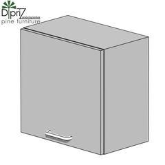 Кухонный шкаф Кухонный шкаф Диприз Шкаф верхний одинарный 90 Д 9001-71