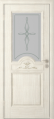 Межкомнатная дверь Межкомнатная дверь Юркас Люкс ДО (слоновая кость)