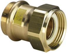 Фитинг для труб Viega Profipress G-Разъемное соединение с плоским уплотнением для регулятора давления