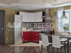 Кухня Кухня Mebelson Виктория компоновка 140-140 (1)