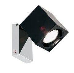 Настенно-потолочный светильник Fabbian Cubetto Black Glass D28 G03 02