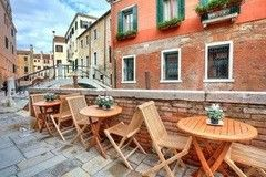Фотообои Фотообои Vimala Кафе с видом на Венецию