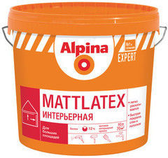 Краска Краска Alpina EXPERT Mattlatex, 10 л