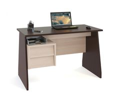 Письменный стол Сокол-Мебель КСТ-115 (венге/беленый дуб)
