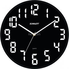 Часы Часы Scarlett Настенные часы Scarlett SC-55BL