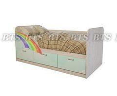 Детская кровать Детская кровать BTS Минима Радуга