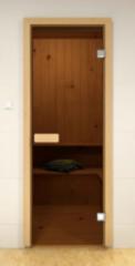 Дверь для бани и сауны Дверь для бани и сауны Sauna Market Бронза 700х1900, осина