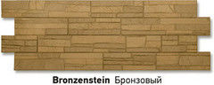 Фасадная панель Docke Stein Бронзовый