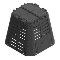 Контейнер, урна Prosperplast MULTI, 420L, черный
