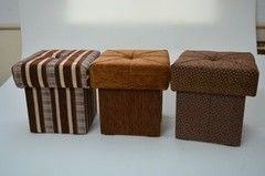 Пуфик Пуфик Вливск-Мебель 35х35х42 см с емкостью для хранения 40