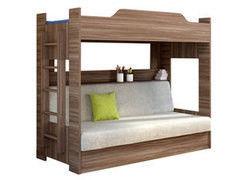 Двухъярусная кровать Боровичи-мебель Лотос (с диван-кроватью)