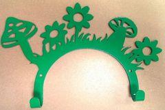 Полкодержатель, крючок Отис-сервис Крючок декоративный На лугу (зеленый)