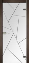 Стеклянная дверь Dariano Вектор (стекло прозрачное)