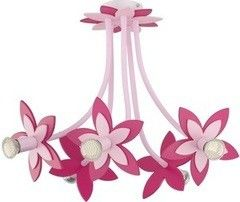Детский светильник Nowodvorski 6896 Flowers Pink V plafon