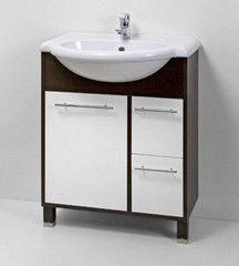 Мебель для ванной комнаты Акваль Тумба с умывальником Карина 70