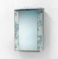 Зеленая мебель для ванной Акваль Зеркало Лаура 50 см