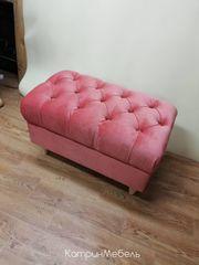 Пуфик Пуфик Сердживани Честер (розовый)