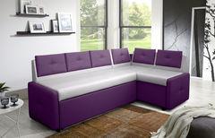 Кухонный уголок, диван ZMF Оскар (серо-фиолетовый)