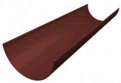 Водосточная система Grand Line Водосточный желоб (шоколадный)
