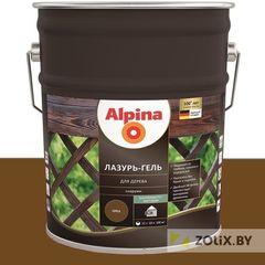 Защитный состав Защитный состав Alpina Лазурь-гель для дерева орех (10 л)