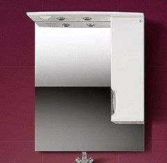 Мебель для ванной комнаты Belux Зеркало со шкафчиком Сонет-Сити ВШ-70