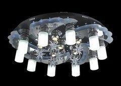 Светильник Profitlight 8121/10+6 BK+CR