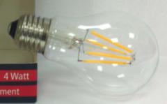 Лампа Лампа LBT Груша (лон) 4W A60 E27 2600K 220-240V 60379