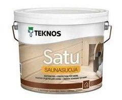 Защитный состав Защитный состав Teknos Satu Saunasuoja 0.9 л