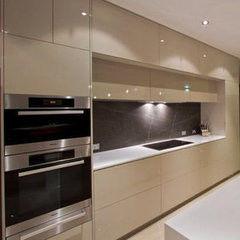 Кухня Кухня AA-Glass Пример 21 (пластик)