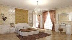 Спальня Настоящая мебель Гарнитур Венеция