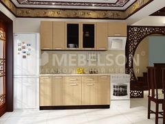 Кухня Кухня Mebelson Виктория компоновка 220 (2) (венге/золото)