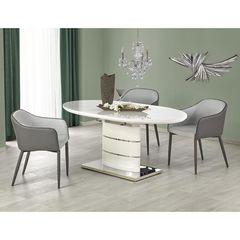 Обеденный стол Обеденный стол Halmar Aspen (раскладной/ белый)