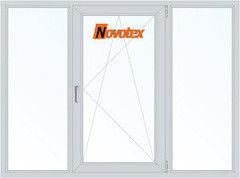 Окно ПВХ Окно ПВХ Novotex 2060*1420 2К-СП, 5К-П, Г+П/О+Г