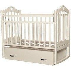 Детская кровать Кроватка Антел Каролина 4 слоновая кость