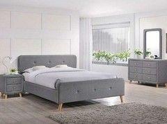 Кровать Кровать Signal Malmo 140х200 (серый)