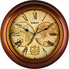 Часы Часы Scarlett Настенные часы Scarlett SC-27A
