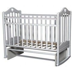 Детская кровать Кроватка Антел Каролина 5 белый