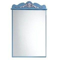 Мебель для ванной комнаты Калинковичский мебельный комбинат Зеркало Версаль КМК 0454.4 (небесная лазурь)