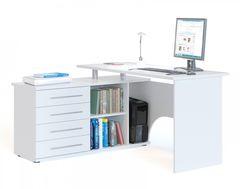 Письменный стол Сокол-Мебель КСТ-109Л (белый)