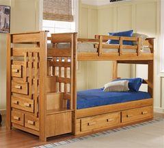 Двухъярусная кровать Лучший дом Пример 185