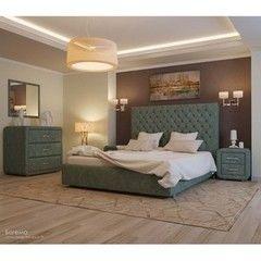 Кровать Кровать УЮТ Богема 120x200 (Velvet Lux 79)