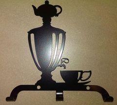 Полкодержатель, крючок Отис-сервис Крючок декоративный Самовар с чашкой