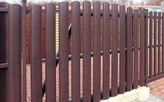 Забор Забор Стальинвест Евроштакетник глянцевый пэ двусторонний (стандарт)