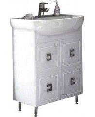 Мебель для ванной комнаты Аква Родос Тумба с умывальником Мобис 65